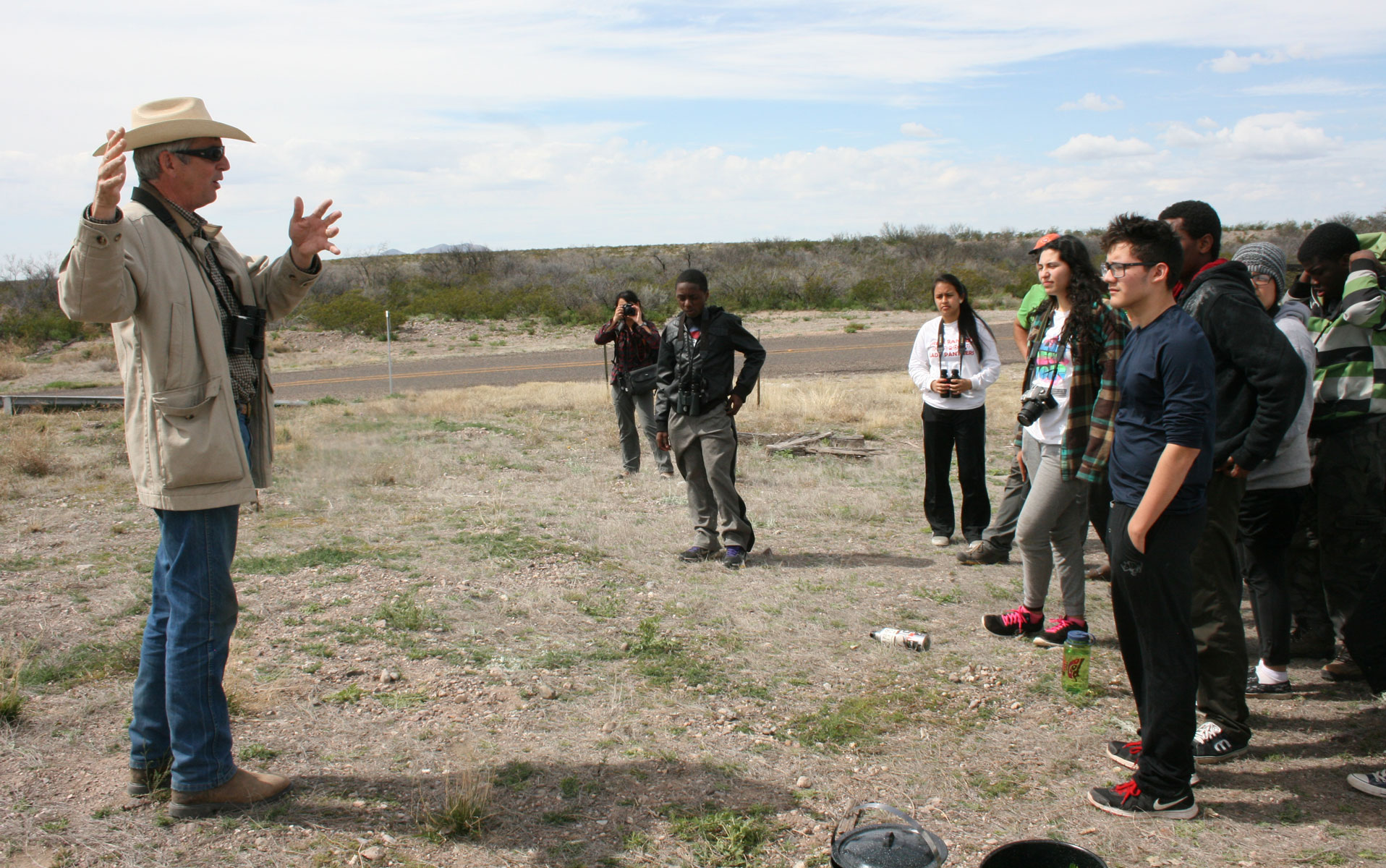 Trinity River Audubon Center's Conservation Treks at Alamito Creek Preserve