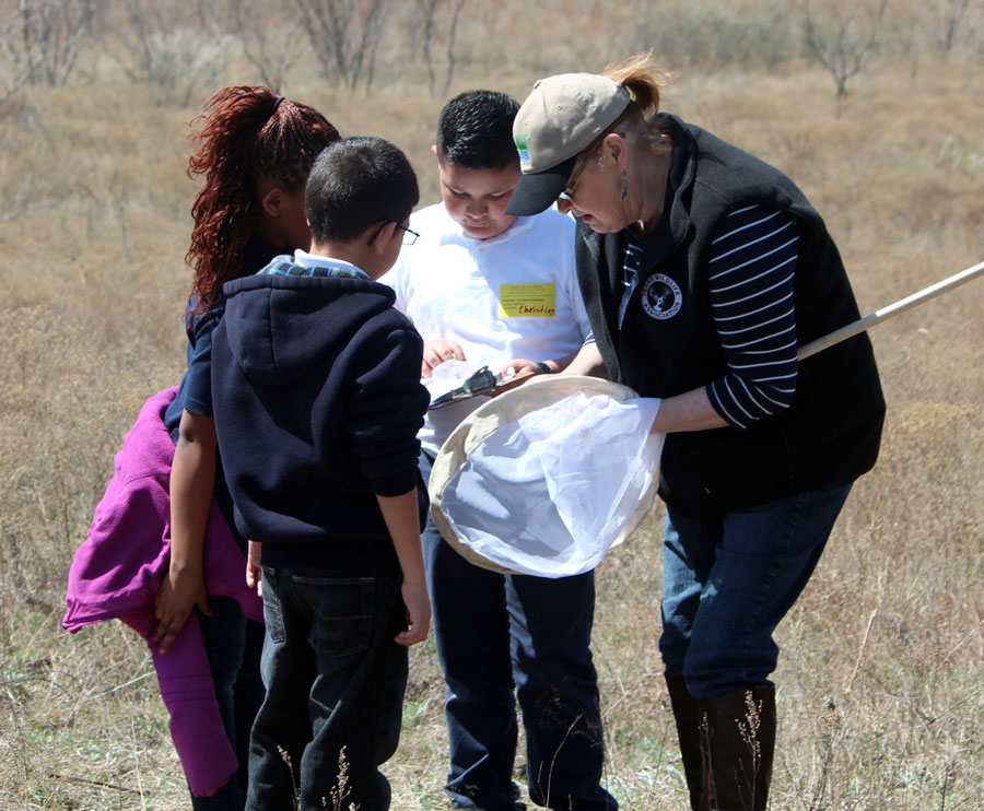 Kids on the Land at Bear Creek Unit in 2014