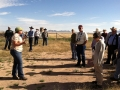 Professor Bonnie Warnock talks about grasses found at Mimms Unit.